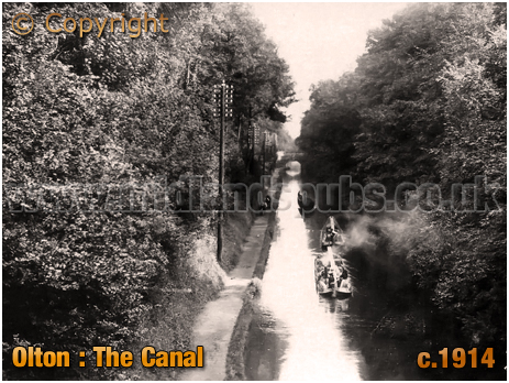 Olton : The Canal [c.1914]