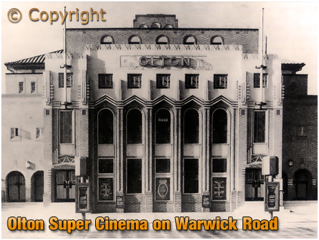 Olton : Super Cinema on Warwick Road