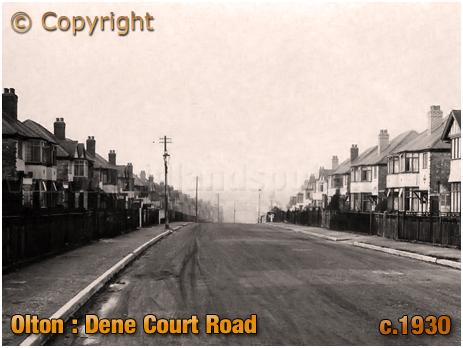 Olton : Dene Court Road [c.1930]