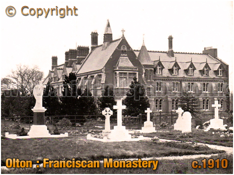 Olton : Franciscan Monastery and Cemetery [c.1910]