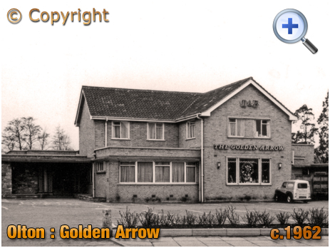 Olton : The Golden Arrow on Warwick Road [c.1962]