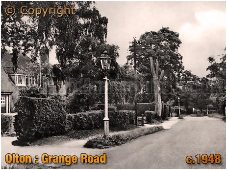 Olton : Grange Road [c.1948]