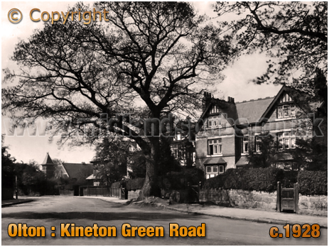 Olton : Kineton Green Road [c.1928]