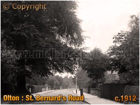 Olton : Saint Bernard's Road [c.1912]
