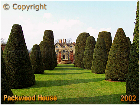 Packwood House Yew Trees [2002]