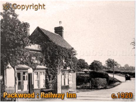 Packwood : Railway Inn near Dorridge [c.1920]