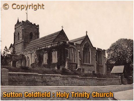 Sutton Coldfield : Holy Trinity Church [c.1906]