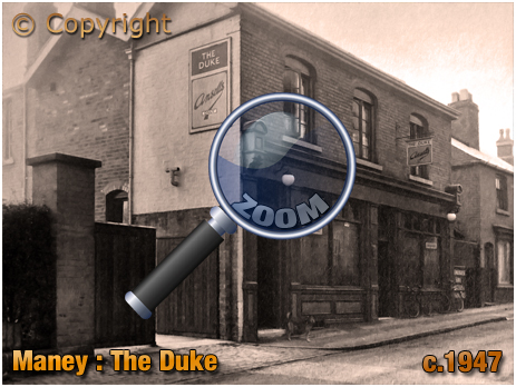 Sutton Coldfield : The Duke at Maney [c.1947]