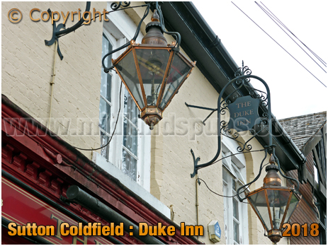 Lanterns of the Duke Inn at Maney in Sutton Coldfield [2018]