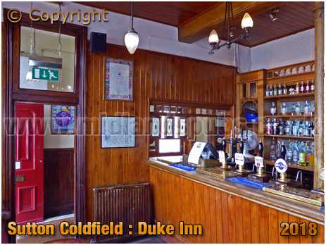 Servery of the Duke Inn at Maney in Sutton Coldfield [2018]