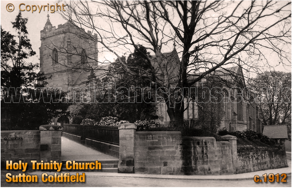 Sutton Coldfield : Holy Trinity Church [c.1912]