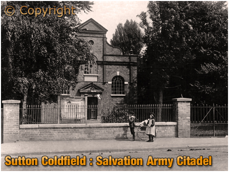 Sutton Coldfield : Salvation Army Citadel [c.1910]
