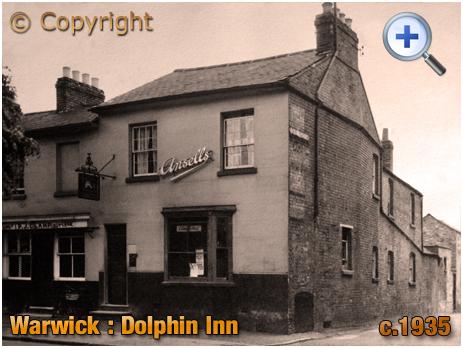 Warwick : The Dolphin Inn on Emscote Road [c.1935]