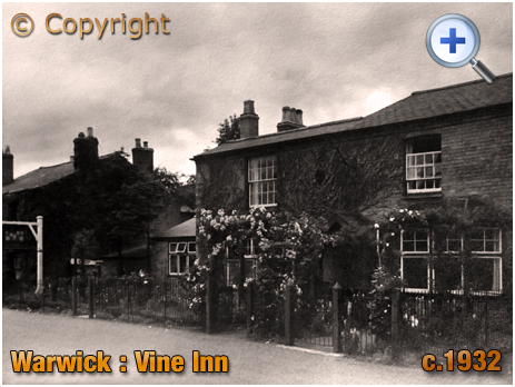 Warwick : The Vine Inn at Packmores [c.1932]