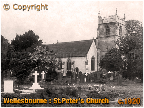 Wellesbourne : Church of Saint Peter [c.1920]