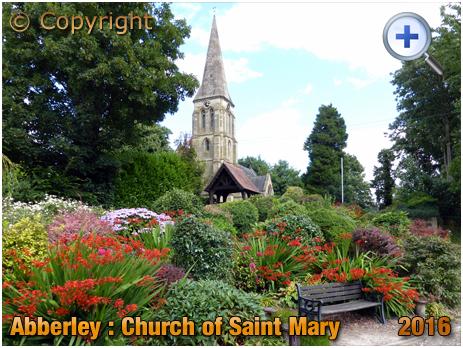 Abberley : Church of Saint Mary and Garden [2016]