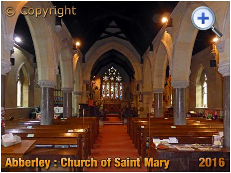 Abberley : Interior of the Church of Saint Mary [2016]