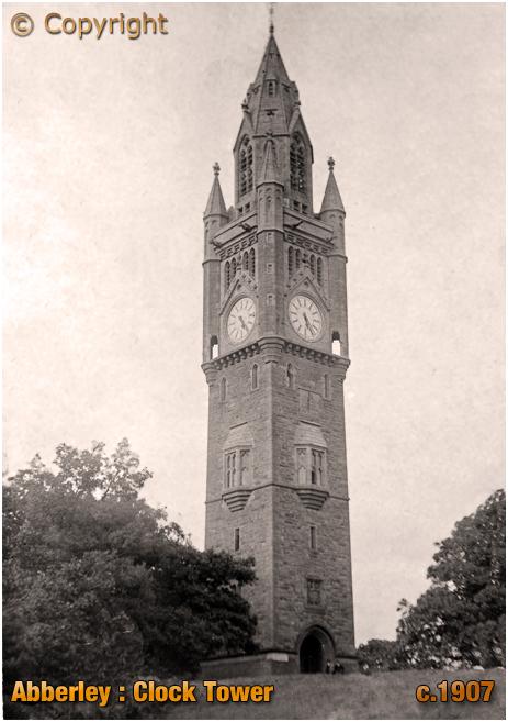 Abberley : Clock Tower [c.1907]