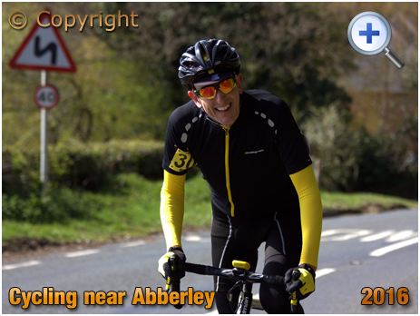Cycling in the Abberley Hills [2016]