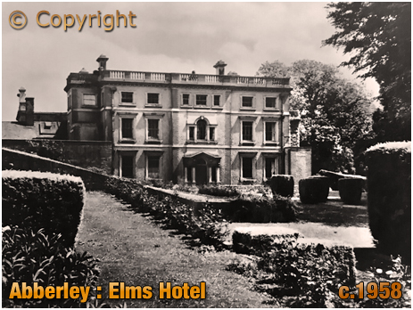Abberley : Elms Hotel and Gardens [c.1958]