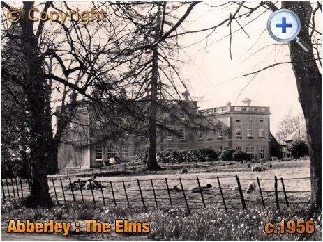 Abberley : The Elms Hotel [c.1956]
