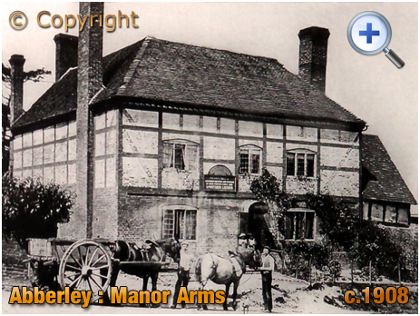 Abberley : Manor Arms [c.1908]