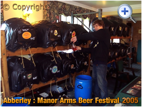 Abberley : Beer Festival at the Manor Arms [2005]
