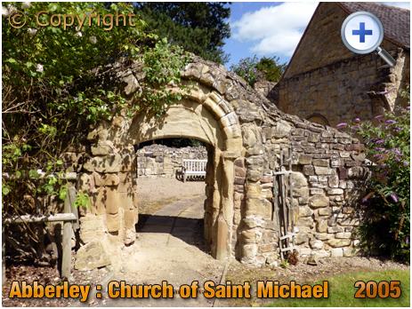 Abberley : Arch of Norman Church of Saint Michael [2005]
