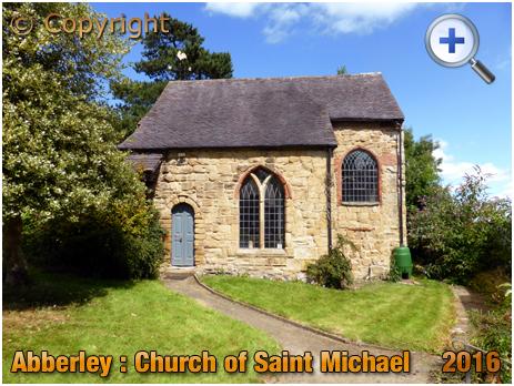 Abberley : Restored Chancel of the Norman Church of Saint Michael [2016]