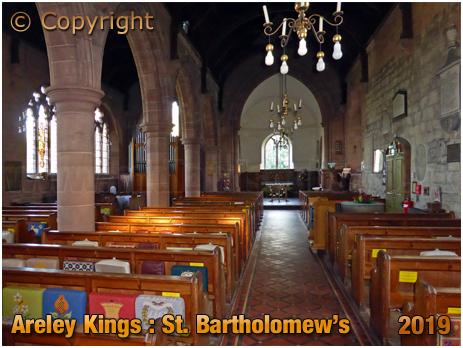 Areley Kings : Interior of the Church of Saint Bartholomew [September 2019]
