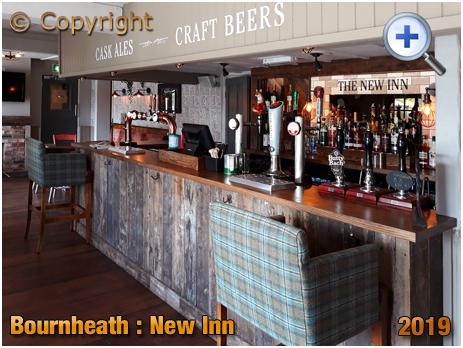 Bournheath : Servery of the New Inn [2019]