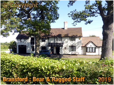 Bransford : Bear and Ragged Staff [September 2019]