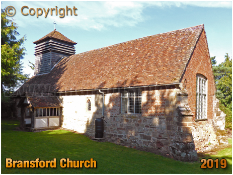 Bransford : Church and Turret [September 2019]