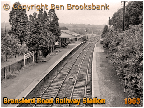 Bransford Road Railway Station [August 1963 © Ben Brooksbank]