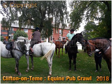 Clifton-upon-Teme : Equine Pub Crawl [2018]