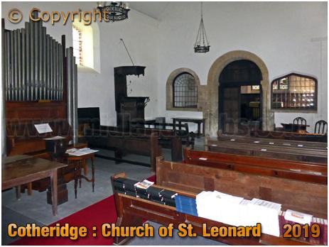 Cotheridge : Nave of the Church of Saint Leonard [September 2019]
