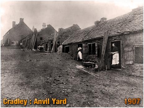 Cradley : Anvil Yard [1907] [Image Courtesy of Birmingham Library]