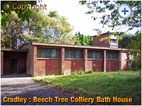 Cradley : Former Bath House and Shower Block of the Beech Tree Colliery [2002]