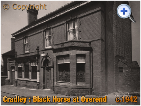 Cradley : The Black Horse in Banners Lane at Overend [c.1942]