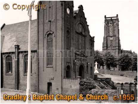 Click here for more information on Cradley in Worcestershire