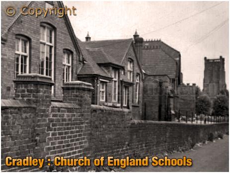 Cradley : Church of England Schools [c.1958]