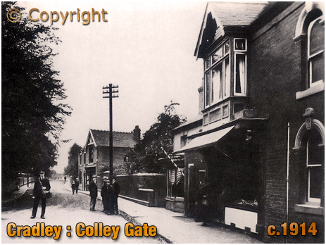 Cradley : Colley Gate from Windmill Hill [c.1914]