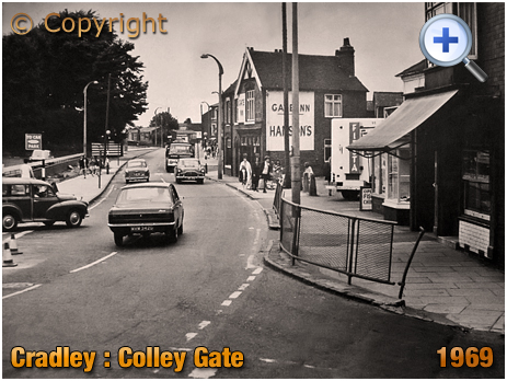 Cradley : Colley Gate with Gate Inn [1969]
