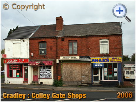 Cradley : Shops on Colley Gate [2006]