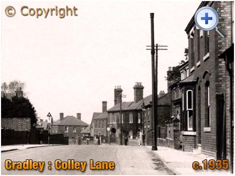 Cradley : Colley Lane [c.1935]