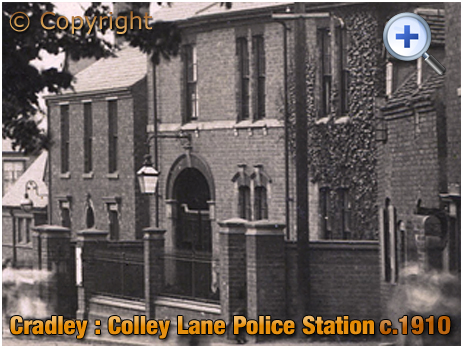 Cradley : Colley Lane Police Station [c.1910]