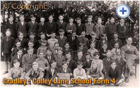 Cradley : Colley Lane School Form 4