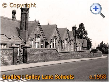 Cradley : Colley Lane Schools [c.1958]