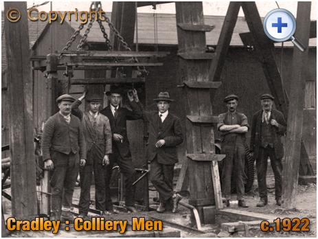 Cradley : Colliery Men [c.1922]