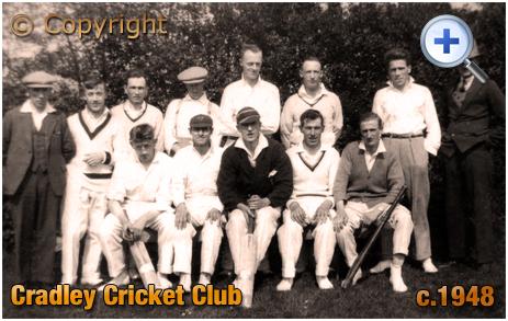 Cradley Cricket Club [c.1948]